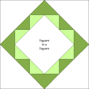 Vines at the Window Quilt Block Diagram Free Pattern at QuiltTherapy.com!