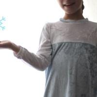 Die Eiskönigin ist da! Elsa-Kostüm + Anleitung für den Schleier!