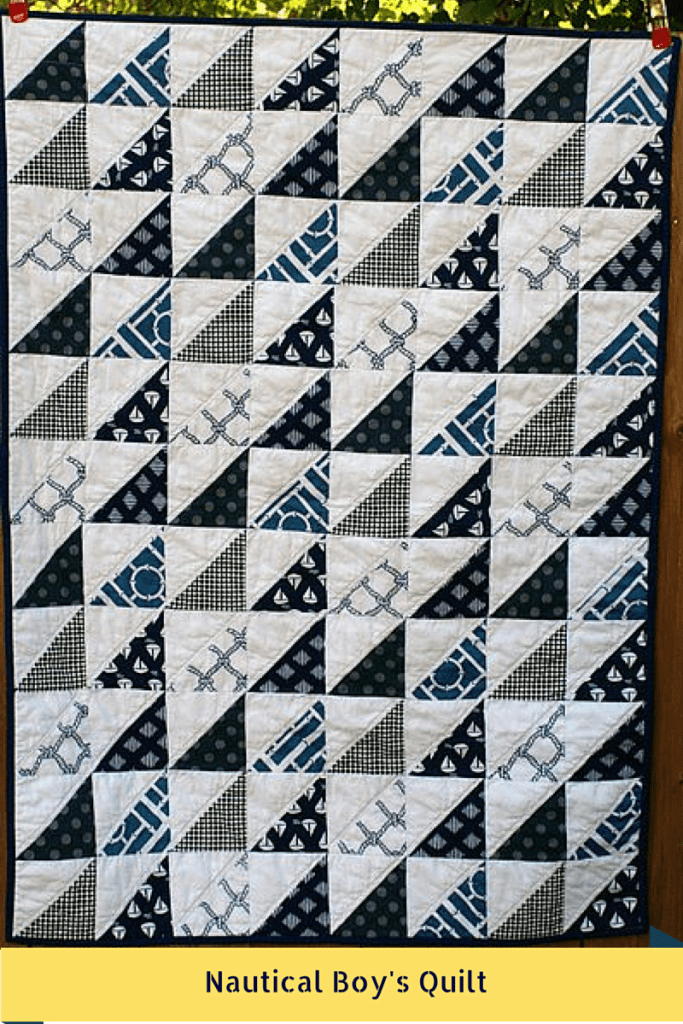 Nautical Boy's Quilt