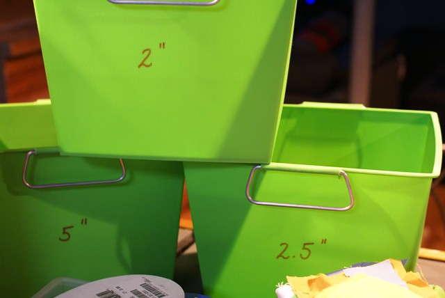 scrap bins