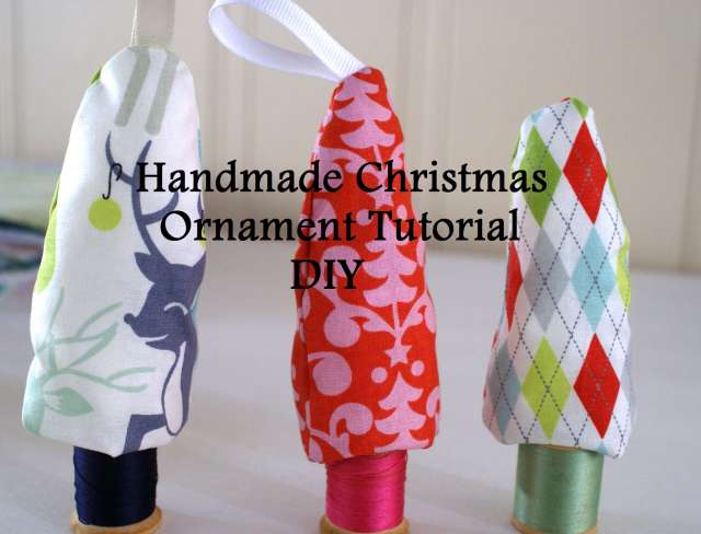 handmade christmas ornament tutorial