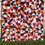 Blogger's Quilt Festival – Kona Solids Quilt