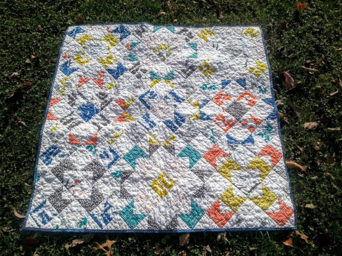 stacked windmills bella quilt regular