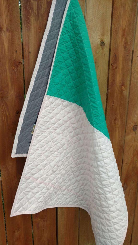 bridesmaid dress baby quilt (1)