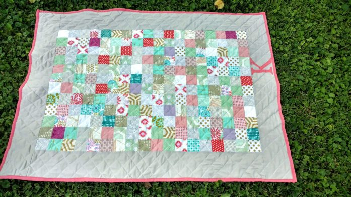 baby girl bridesmaids dress quilt (5)