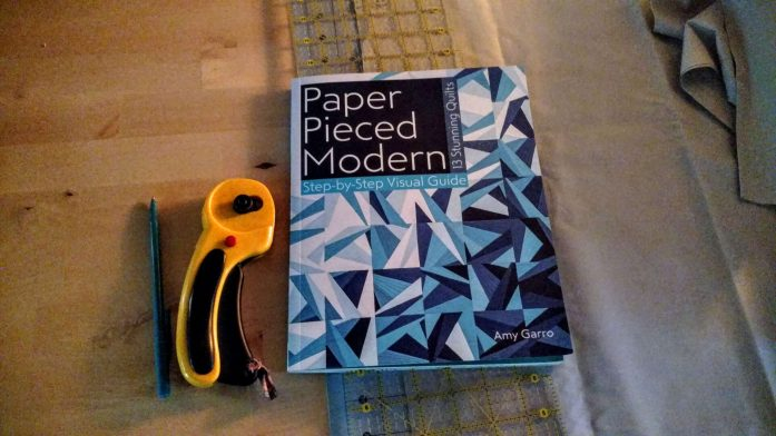 paper pieced modern book