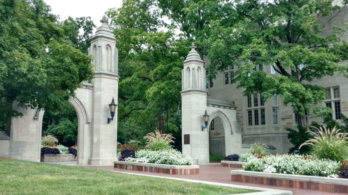 sample gates, indiana university, IU landmarks, campus landmarks