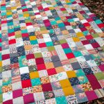 Indie Folk King Sized Patchwork Quilt – Top Finished