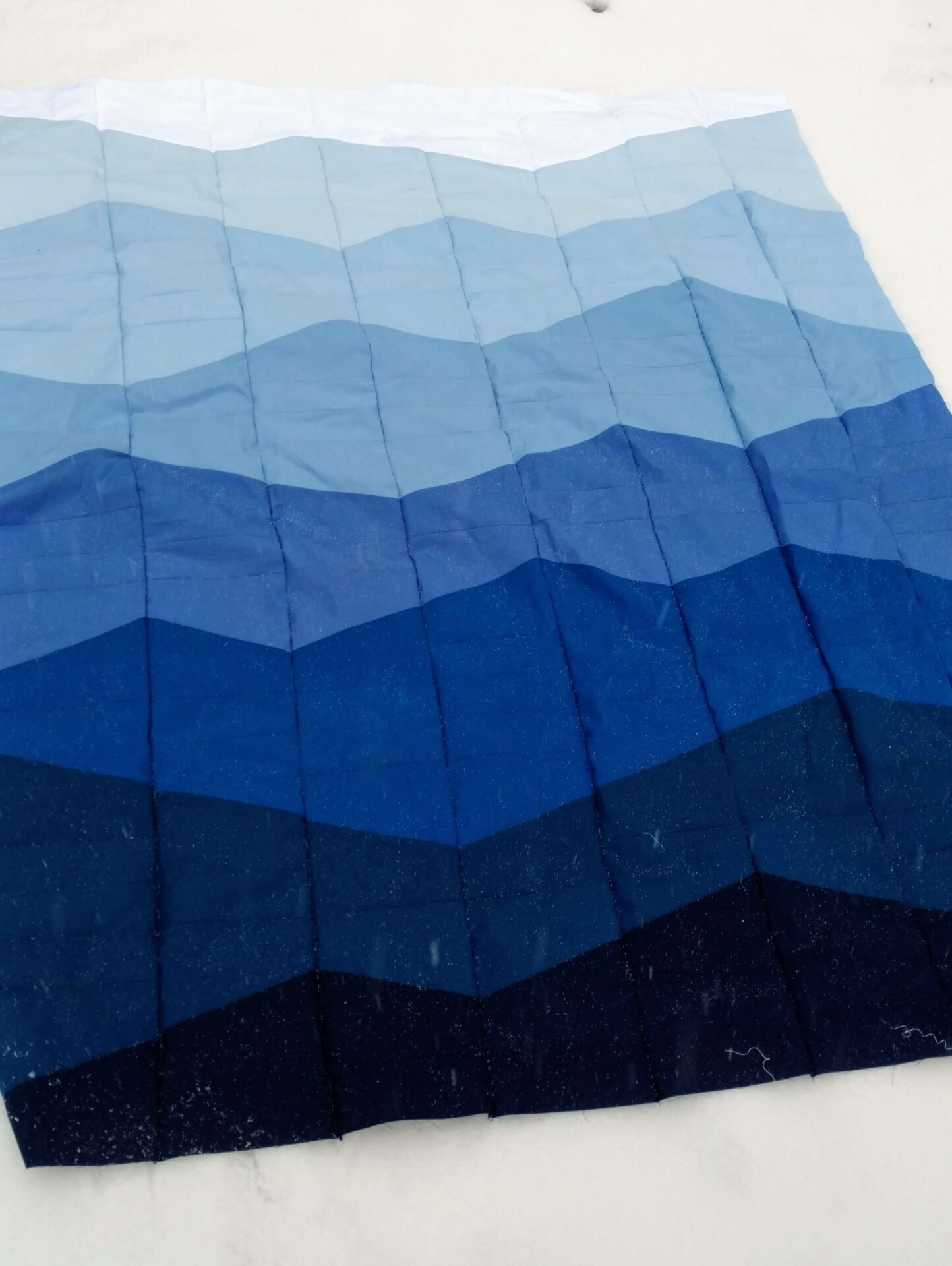 Mountain Quilt : mountain, quilt, Range, Quilt, Swiss, Mountains, Quiltytherapy