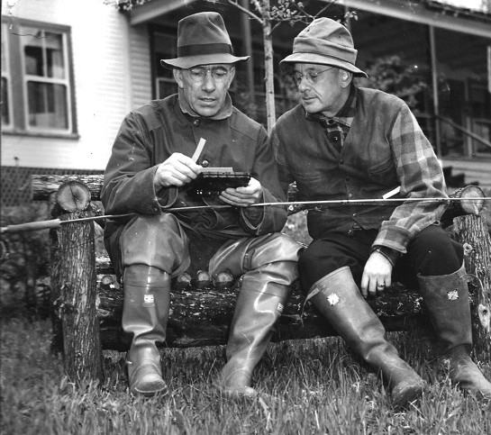 Governor Aiken and Alf Landon