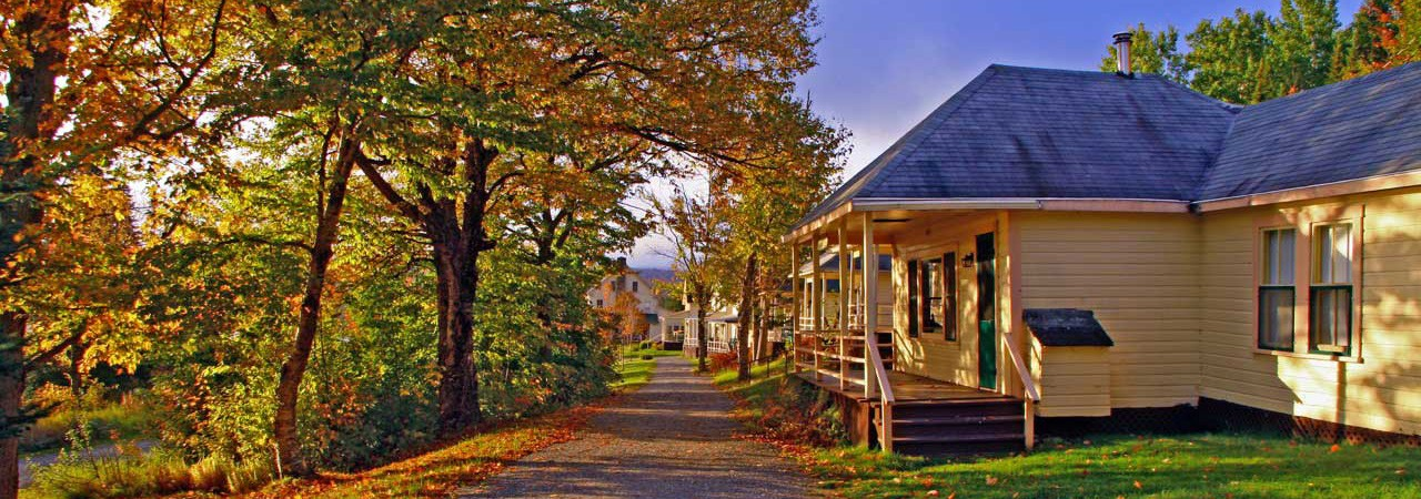 Quimby Country Lodging in northern Vermont