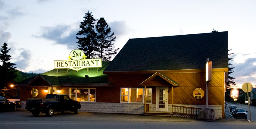 Spa Restaurant - local dining