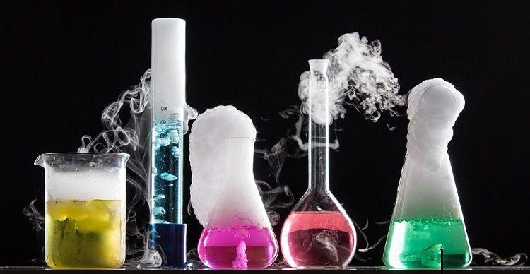 reacción química