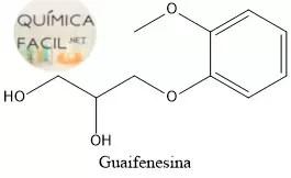 Estructura de la Guaifenesina