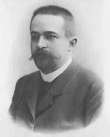 Retrato de Johannes Thiele, 1890