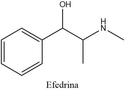 Estructura de la efedrina