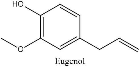 Estructura del eugenol