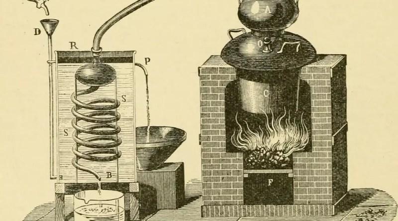 Destilación arrastre con vapor