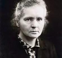Fotografia de Marie Curie