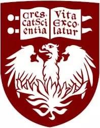 Escudo de la Universidad de Chicago, lugar de nacimiento de la Chicago Pile - 1