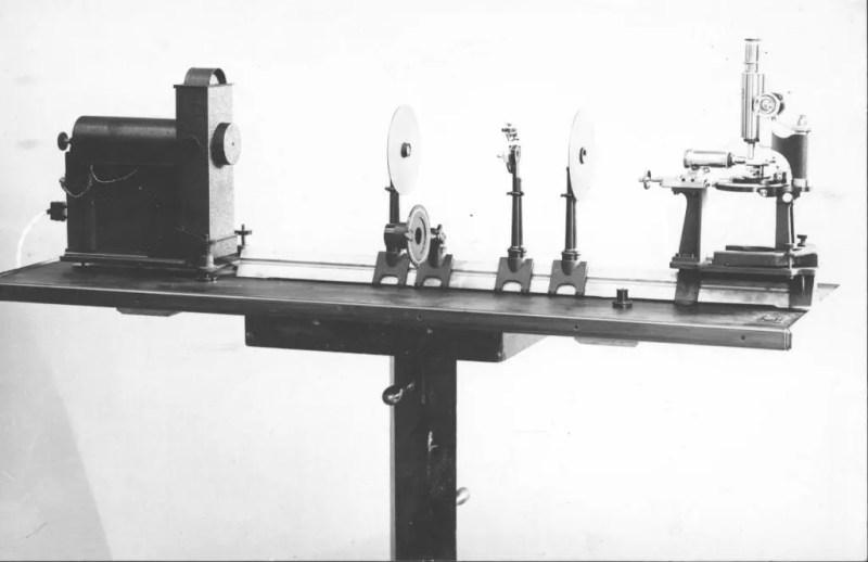 Ultramicroscopio de inicios del siglo XX