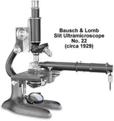 Ultramicroscopio comercial, 1929