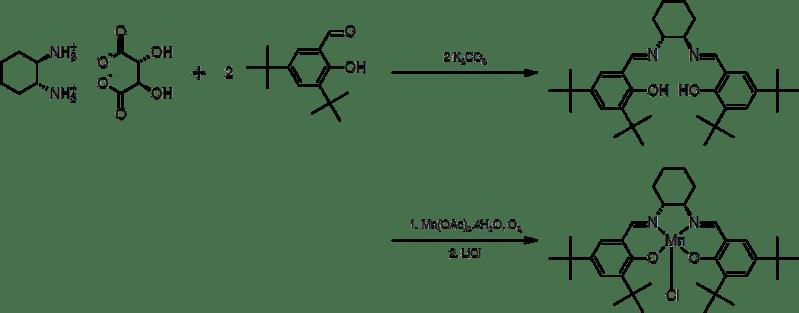 Síntesis de (R,R)-Catalizador de Jacobsen.