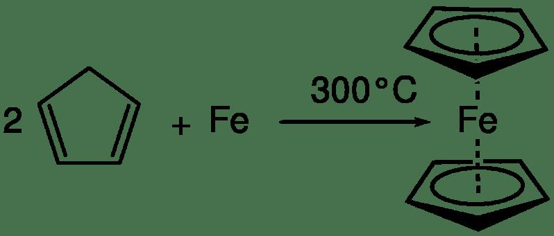 La aproximación de Miller y col. al ferroceno