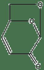 Estructura 2D de la levoglucosenona