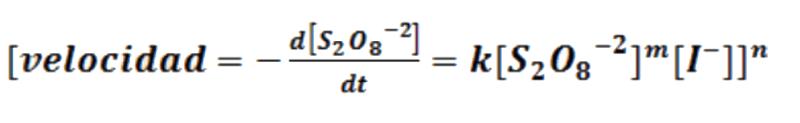 cinética de reacción 3