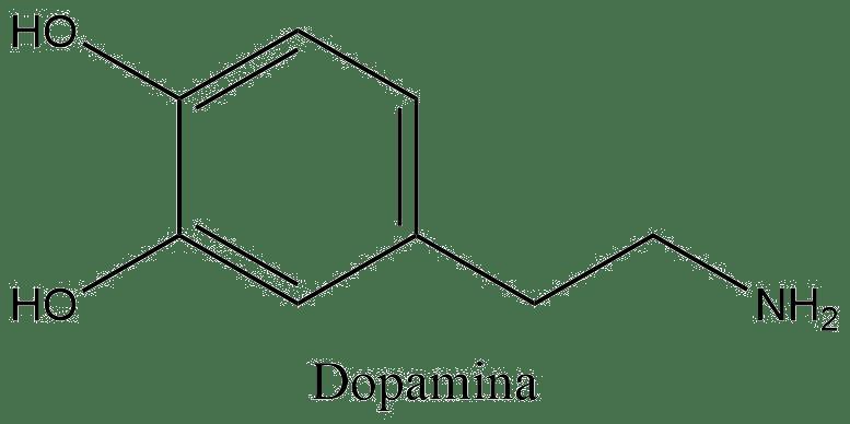 Estructura 2D dopamina