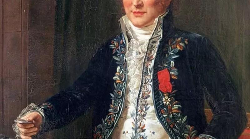 Retrato de Antoine-François, conde de Fourcroy por Anicet-Charles-Gabriel Lemonnier