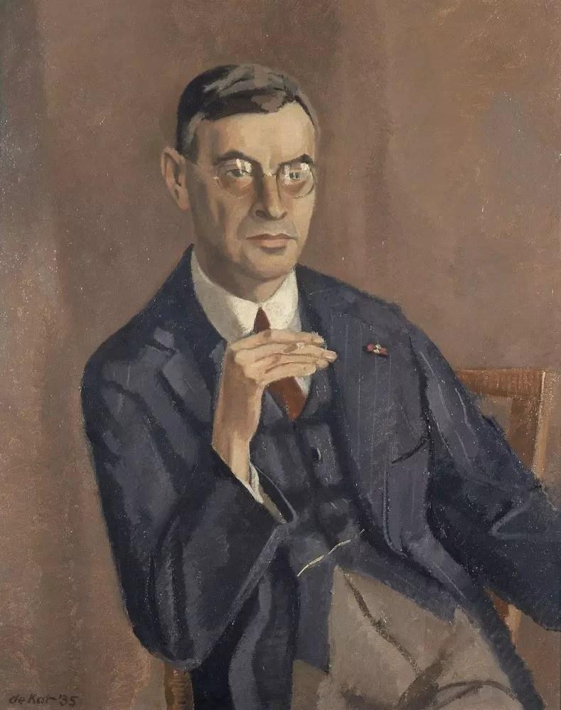 Pintura de Dirk Coster - 1935