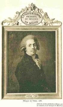 Retrato de Fausto D'Elhuyar