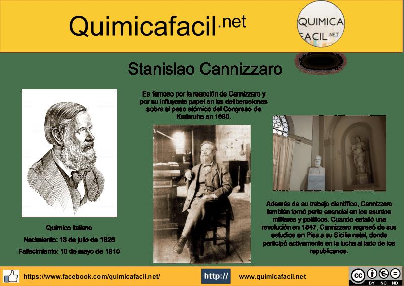 Infografia Stanislao Cannizzaro