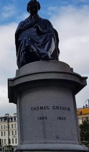 Estatua de Thomas Graham en Glasgow, Escocia