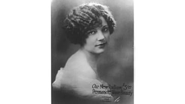 Un anuncio de 1924 para un tratamiento capilar de radio. Crédito: H.W. Cherry/Biblioteca del Congreso