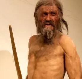 Ötzi el Hombre de Hielo, con 61 tatuajes