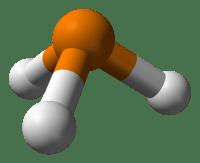 Estructura 3D de la fosfina