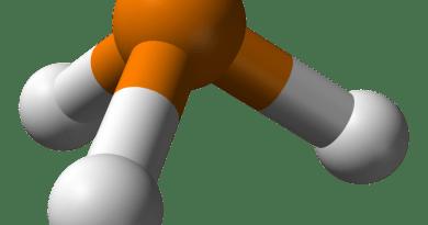 Estructura de la fosfina