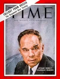 Portada de la revista Time con Seaborg en ella