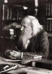 Dmitri Mendeleev 1834 - 1907