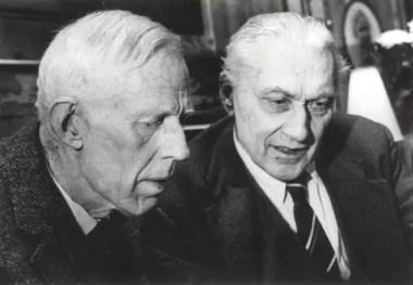 Dos premios Nobel en conversación: Odd Hassel y Ragnar Frisch