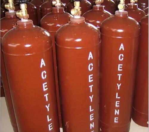 Acetileno tanques