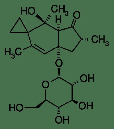 Estructura 2D del ptaquilósido