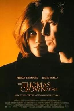 Cartel original de cine de The Thomas Crown affair