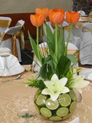 26 arreglos florales para 15 aos  Todo para la Quinceaera
