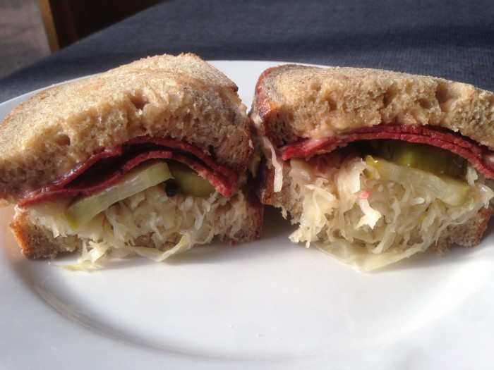 eat all the smith & deli sandwiches – #10, reubenstein