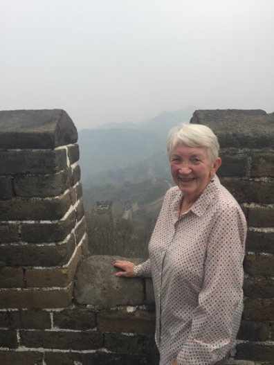 Mum on The Great Wall