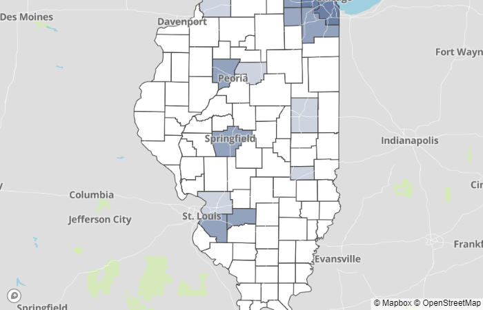 IDPH: 128 new cases of COVID-19 in Illinois